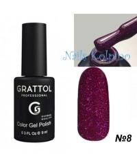 Гель-лак GRATTOL OPAL 08