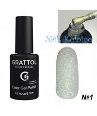 Гель-лак GRATTOL OPAL 01