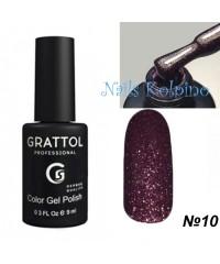 Гель-лак GRATTOL OPAL 10