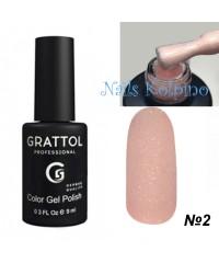 Гель-лак GRATTOL OPAL 02
