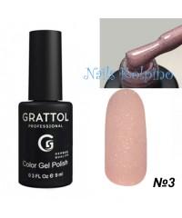 Гель-лак GRATTOL OPAL 03