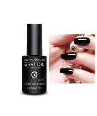 Гель-лак GRATTOL 02 Black, черный