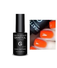 Гель-лак GRATTOL 29 Orange Red