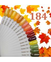 Гель-лак GRATTOL 184 Orange Sherbet (Апельсиновый Щербет)