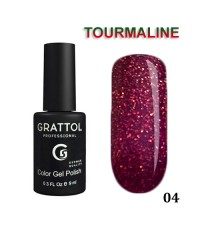 Гель-лак GRATTOL Tourmaline 04