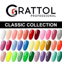 гель-лак GRATTOL Классическая коллекция