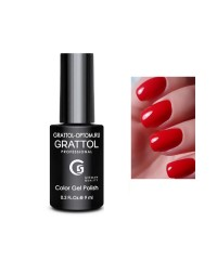 Гель-лак GRATTOL 52 Red (Красный)