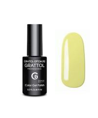 Гель-лак GRATTOL 125 Light Yellow (Светло-Желтый)