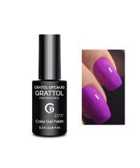 Гель-лак GRATTOL 130 Dark Fuchsia (Темная Фуксия)