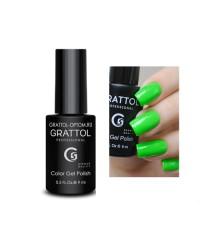 Гель-лак GRATTOL 37  Lime (Лайм)