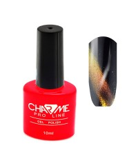 Гель-лак CHARME Cat's eye 5D effect 02 - туманность андромеды