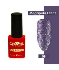 Гель-лак CHARME Megapolis effect 08 Санторини