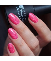 "Patrisa Nail, Гель-лак ""Скайлайн"" W6 (Блестящий пурпурно-розовый с мелким глиттером), 8 мл"