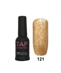 Гель-лак TAF №121, с блестками, 8мл