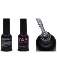Гель-лак TAF №112, полупрозрачное серебро с мелкими блестками, 8мл