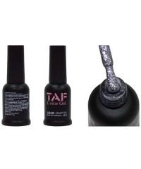 Гель-лак TAF №118, серебро с мелкими блестками, 8мл