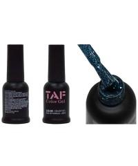 Гель-лак TAF №126, голубые блестки, 8мл