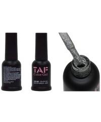 Гель-лак TAF №132, серебряные блестки, 8мл