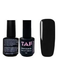 Гель-лак TAF PREMIUM 397 (черный), 12мл