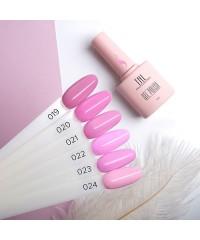 Гель-лак TNL 8 Чувств Mini 022 персидский розовый 3,5 мл.