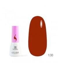 Гель-лак TNL 8 Чувств Mini 138 красная охра 3,5 мл.