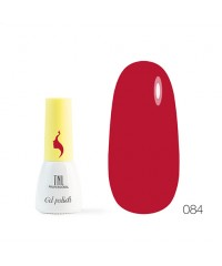 Гель-лак TNL 8 Чувств Mini 084 насыщенный красный 3,5 мл.