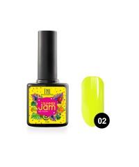 Гель-лак TNL Summer Jam 02 - неоновый лимонный, 10 мл