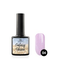 Гель-лак TNL Galaxy shine №04 сиреневый с шиммером 10 мл