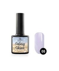 Гель-лак TNL Galaxy shine №05 светло-фиолетовый с шиммером 10 мл