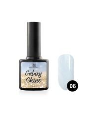 Гель-лак TNL Galaxy shine №06 светло-голубой с шиммером 10 мл