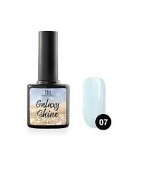 Гель-лак TNL Galaxy shine №07 светло-бирюзовый с шиммером 10 мл