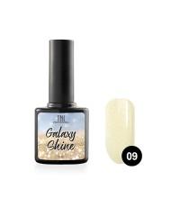 Гель-лак TNL Galaxy shine №09 светло-желтый с шиммером 10 мл