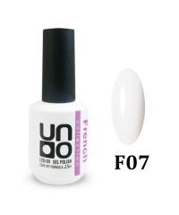 Гель-лак UNO F07 Ultra White (ультра белый) 15мл