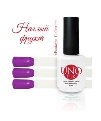 UNO LUX, Гель-лак - FN120 Lippy Fruit - Наглый фрукт, 15мл.