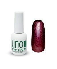 UNO, Гель-лак - 026 Красный турмалин — Red Tourmaline, 12мл.