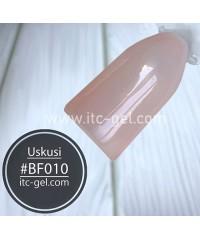 Гель-лак USKUSI BF010 (камуфляж для френча), 8 мл.
