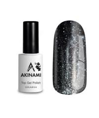 Топ для гель-лака AKINAMI Glitter №1, 9 мл