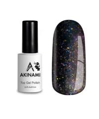 Топ для гель-лака AKINAMI Glitter №2, 9 мл