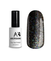 Топ для гель-лака AKINAMI Glitter №3, 9 мл