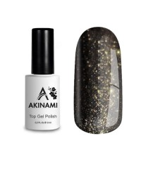 Топ для гель-лака AKINAMI Glitter №5, 9 мл