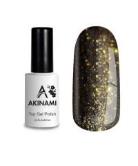 Топ для гель-лака AKINAMI Glitter №6, 9 мл