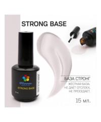 Жесткая база для тонких и ломких ногтей прозрачная Bloom Strong base 15 мл