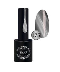 Гель-лак ECO Professional Кошачий глаз серебро