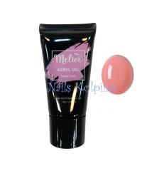 Акригель Mileor темно-розовый Acryl Gel Dark pink, 30 мл