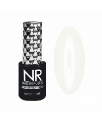 Топовое покрытие для ногтей NR ART TOP GLOSS №24 PROVENCE Мягкий хлопок, 10 мл