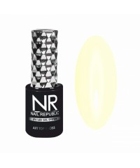 Топовое покрытие для ногтей NR ART TOP GLOSS №25 PROVENCE Нежное солнце, 10 мл
