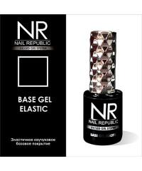 Эластичное базовое покрытие BASE GEL ELASTIC Nail Republic, 10 мл