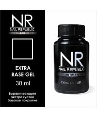 Базовое покрытие густой консистенции EXTRA BASE GEL Nail Republic, 30 мл