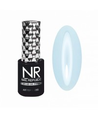 Топовое покрытие для ногтей NR ART TOP GLOSS №23 PROVENCE Незабудковое поле, 10 мл