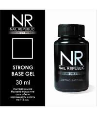 Базовое покрытие средней консистенции STRONG BASE GEL Nail Republic, 30 мл